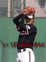 福山雄投手