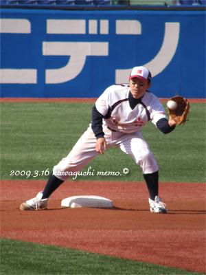 佐々木勉選手