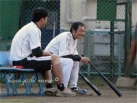 吉田くんと桑元さん(右)