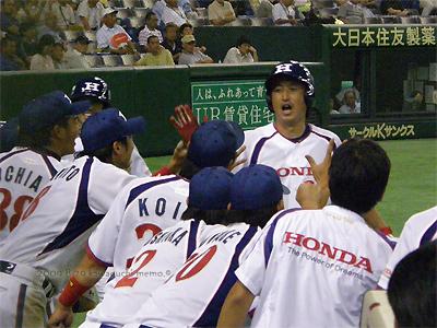 西郷さん2ラン本塁打!