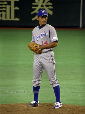 徳村さんは何も着ても格好いい