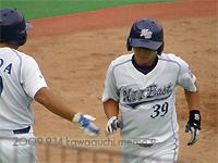 平野選手のソロ