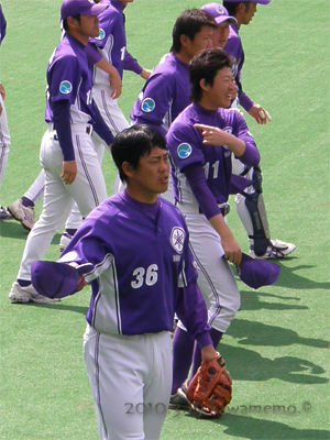 佐藤ツギオ選手と戸狩聡希投手