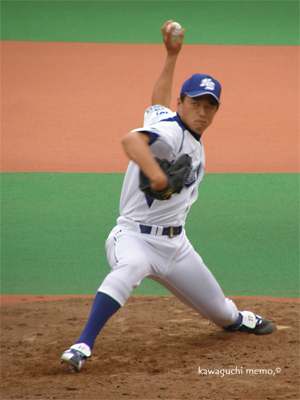 成田投手、今一番好き。