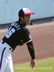 2003年の舛次投手