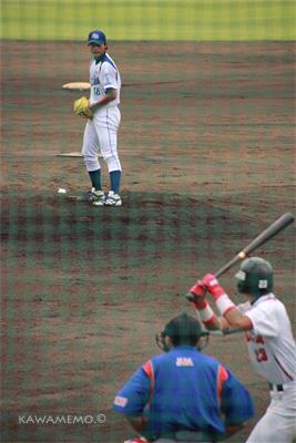 岡田投手は新人さん