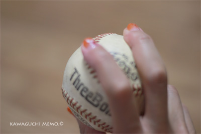 魔球投げます
