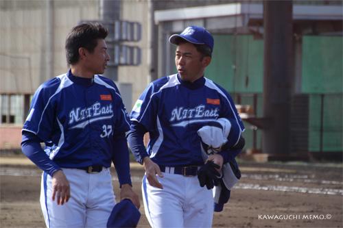高橋賢司さんと安田さん