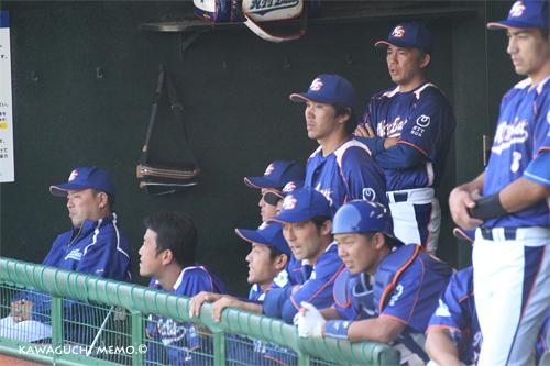NTT東日本ベンチ