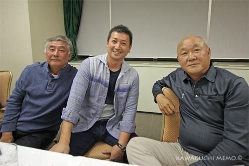 潮田さん、西郷さん、垣野さん