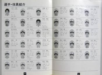 三菱自動車川崎メンバー表(クリックで大きく)