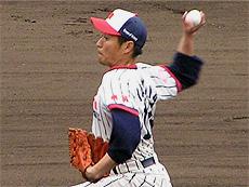 先発の矢島投手