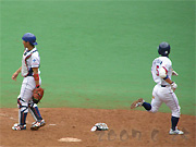 小手川選手がホームイン
