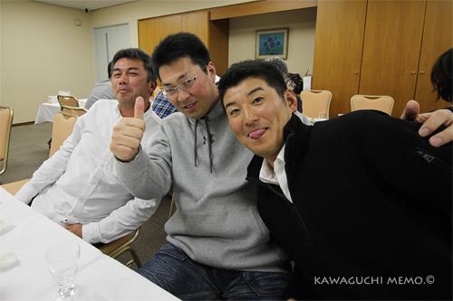 安田さん、梶山さん、武治さん